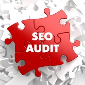 SEO Audit on Red Puzzle.