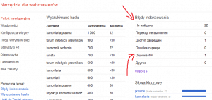 google webmaster tools - panel
